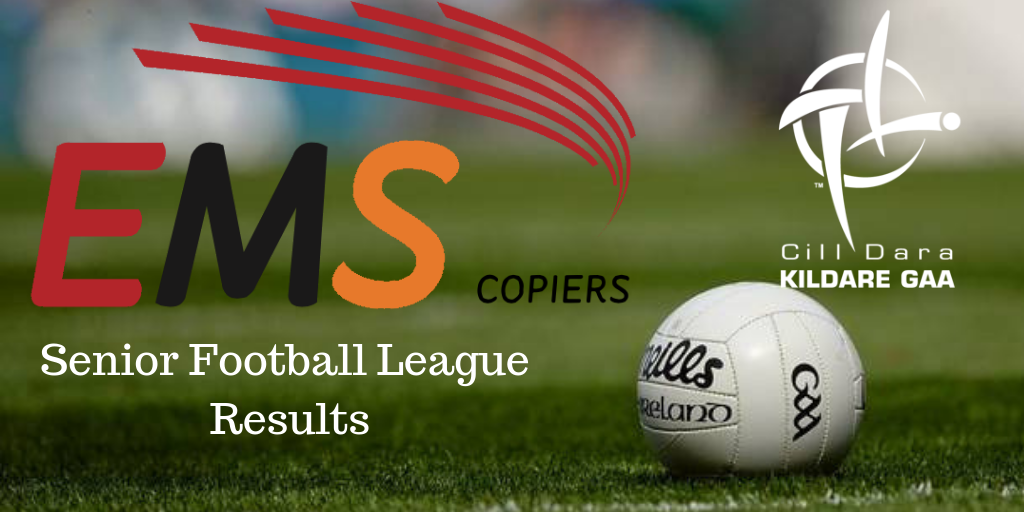 EMS Copiers Senior Football League Results + League Tables