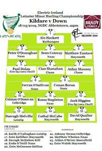 Electric Ireland Leinster Minor Hurling Championship – Team News