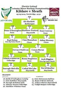Leinster Minor Hurling Knockout Stage 2 – Team News
