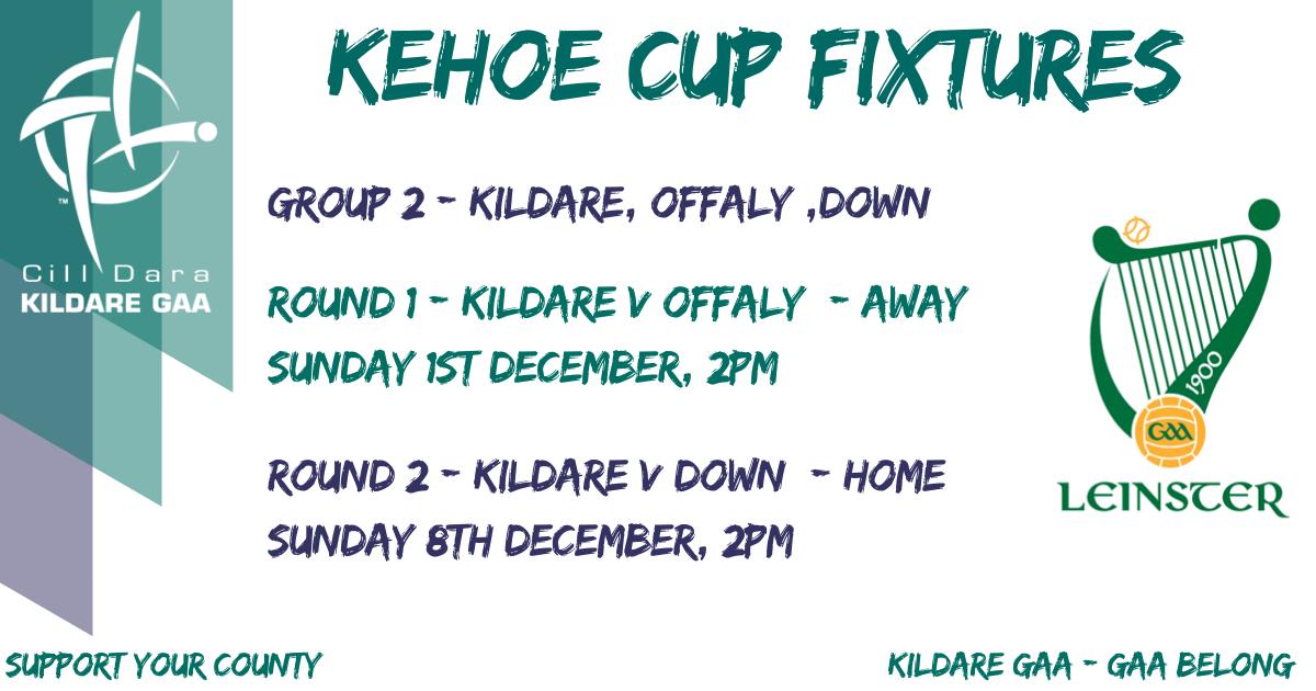 2020 Kehoe Cup Hurling Fixtures