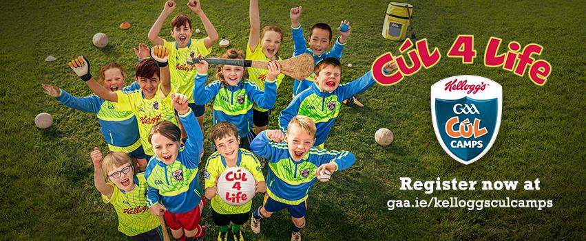 Kellogg's GAA Cúl Camps 2020 Coaching Roles
