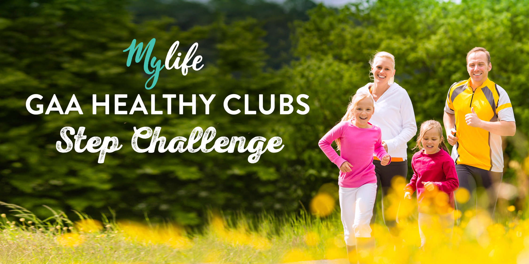 Keep active and help your club win with the Irish Life Healthy Club Steps Challenge