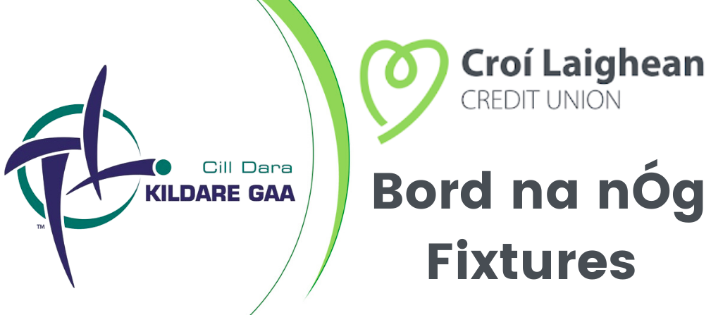Croí Laighean Bord na nÓg Fixtures Friday 17th July – Wednesday 22nd July